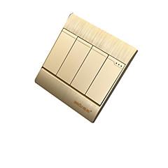 abordables Interruptores-cuatro interruptor de pared doble control abierto