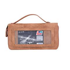 Для Кейс для iPhone 7 / Кейс для iPhone 7 Plus / Кейс для iPhone 6 Кошелек / Бумажник для карт Кейс для Чехол Кейс для Один цвет Твердый