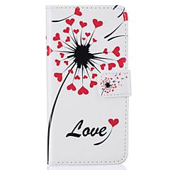 Voor iPhone 7 hoesje / iPhone 6 hoesje / iPhone 5 hoesje Portemonnee / Kaarthouder / met standaard / Flip / Patroon hoesjeVolledige