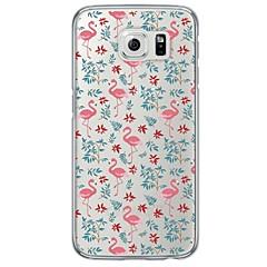 voordelige Galaxy S6 Edge Hoesjes / covers-hoesje Voor Samsung Galaxy Samsung Galaxy S7 Edge Transparant Patroon Achterkant dier Zacht TPU voor S7 edge S7 S6 edge plus S6 edge S6