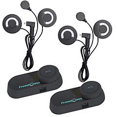 povoljno Motori i quadovi-2 kom freedconn BT bluetooth moto kacige portafon interfona slušalice sa FM radiosoft slušalice t-com fm