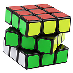 cheap Magic Cubes-Rubik's Cube YongJun 3*3*3 Smooth Speed Cube Magic Cube Puzzle Cube Professional Level Speed ABS Square New Year Children's Day Gift