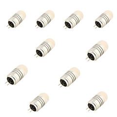g4 led bi-pin világítás t 8 smd 3020 120lm meleg fehér hideg fehér 3000k / 6000k dekoratív dc 12v