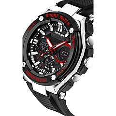 SANDA Heren Sporthorloge Militair horloge Smart horloge Modieus horloge Polshorloge Digitaal Japanse quartz Chronograaf Waterbestendig