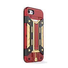 Для Кейс для iPhone 7 Кейс для iPhone 7 Plus Кейс для iPhone 6 Чехлы панелиБумажник для карт Защита от удара со стендом Ультратонкий