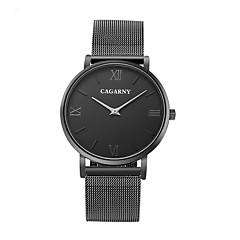お買い得  大特価腕時計-CAGARNY リストウォッチ エミッタ カジュアルウォッチ, クール, / ホワイト / ブラック