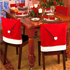 6PCS 크리스마스 의자는 크리스마스 decorations65의 *의 50cm를 커버