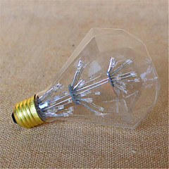 preiswerte LED-Birnen-3W E26/E27 LED Kugelbirnen G95 49 Dip - Leuchtdiode 800 lm Gelb Dekorativ V 1 Stück