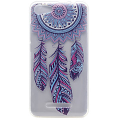 For Wiko Lenny 2 Lenny 3 Wind Chimes Pattern High Permeability TPU Material Phone Shell for Pulp Fab 4G