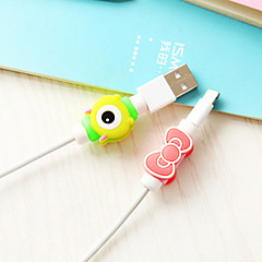 cheap Drawing & Writing Instruments-Cartoon Cable Protector(1 PCS)