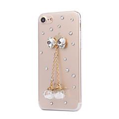 Для Кейс для iPhone 7 Кейс для iPhone 6 Кейс для iPhone 5 Чехлы панели Стразы Задняя крышка Кейс для Плитка Твердый PC для AppleiPhone 7