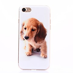 Cartoon Dog Pattern TPU Protection Back Cover Case for iPhone 7/iPhone 7 Plus