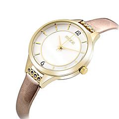 KEZZI Damskie Modny Zegarek na nadgarstek Na codzień Kwarcowy / Skóra Pasmo Na co dzień Nowoczesne Elegancki Czarny Niebieski Brązowy