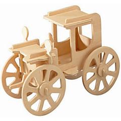 تركيب خشبي لعبة سيارات مجموعات البناء ألعاب خمر، سيارة المستوى المهني صبيان فتيات 1 قطع