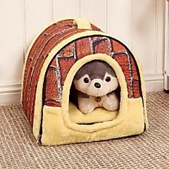 お買い得  猫ケア用品、グルーミング-ネコ 犬 ベッド ペット用 マット/パッド 携帯用 Brown ペット用