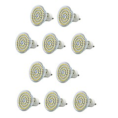 preiswerte LED-Birnen-10 Stück 300-400lm E14 GU10 E26 / E27 LED Spot Lampen MR16 60 LED-Perlen SMD 3528 Wasserfest Dekorativ Warmes Weiß Kühles Weiß 220-240V