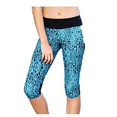 Mulheres Camiseta Segunda Pele Leggings de Ginástica Leggings de Corrida Respirável Calças para Ioga Exercício e Atividade Física Corrida