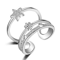 preiswerte Halsketten-Damen Übergang Bandring / Knöchel-Ring - Roségold, Sterling Silber Modisch Eine Größe Silber / Golden Für Hochzeit / Party / Alltag