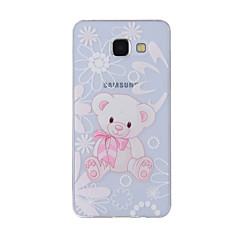 Case Kompatibilitás Samsung Galaxy A5(2016) A3(2016) Minta Hátlap Állat Puha TPU mert A8(2016) A5(2016) A3(2016) A8 A7 A5 A3