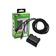 abordables Baterías y Cargadores para Xbox One-Cargador / Baterías Para Xbox Uno ,  Recargable Cargador / Baterías Metal / ABS 1 pcs unidad