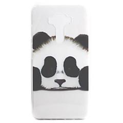 Para asus zenfone 3 ze552kl zenfone 3 ze520kl capa capa panda padrão alta permeabilidade pintura tpu material telefone caixa