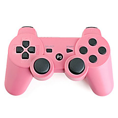 cheap PS3 Controllers-Rechargeable USB Wireless Controller for PS3 (Pink)