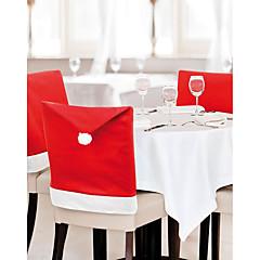 abordables Decoración del Hogar-silla de navidad decoraciones de navidad cubre la decoración del hogar de los 60 * 50cm 1 pieza