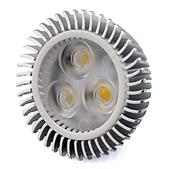 preiswerte LED-Birnen-1pc 6 W 480 lm MR16 LED Spot Lampen 3 LED-Perlen Hochleistungs - LED Warmes Weiß / Kühles Weiß 12 V / 1 Stück / RoHs