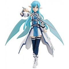애니메이션 액션 피규어 에서 영감을 받다 Sword Art Online 코스프레 에니메이션 코스프레 악세서리 그림 블루 PVC