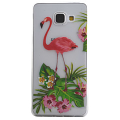 voordelige Galaxy A5 Hoesjes / covers-hoesje Voor Samsung Galaxy A5(2016) A3(2016) Transparant Patroon Achterkant dier Zacht TPU voor A5(2016) A3(2016)