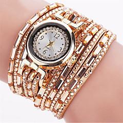 preiswerte Damenuhren-Damen Quartz Armbanduhr / Armband-Uhr Punk / Cool / leuchtend PU Band Charme / Glanz / Retro / Süßigkeit / Freizeit / Böhmische / Modisch