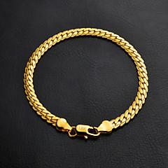 preiswerte Armbänder-Damen Ketten- & Glieder-Armbänder - vergoldet Armbänder Silber / Golden Für Hochzeit / Party / Abschluss