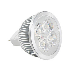 4W GU5.3(MR16) LED-spotlys MR16 Højeffekts-LED 380 lm Varm hvid / Kold hvid V 1 stk.