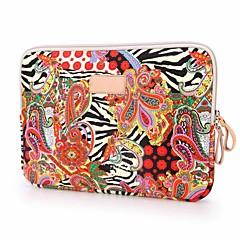 preiswerte Laptop Taschen-nationale Tendenz große rote Blume Notebook-Schutzhülle für iPad 10-Zoll 11-Zoll-12 Zoll-Laptopbeutel
