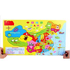 puzzle-uri Puzzle Blocuri de pereti DIY Jucarii Lemn