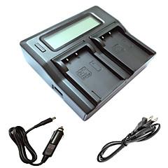 ismartdigi BLS5 lcd double chargeur avec câble de charge de voiture pour olympus PL3 PL5 pl6 pl7 ep3 EM10 E-PM1 pm2 pm3 BLS5 BLS1 batterys