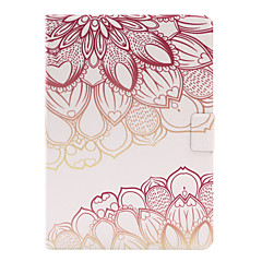 cheap Cases/Covers for iPad Air-Case For Apple iPad 4/3/2 iPad Air 2 iPad Air with Stand Flip Full Body Cases Flower Soft PU Leather for iPad 4/3/2 iPad Air iPad Air 2