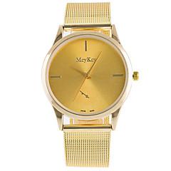baratos Relógios em Oferta-Mulheres Relógio de Moda Relógio de Pulso Quartzo Lega Banda Vintage Casual Prata Dourada Ouro Rose Dourado Prata Ouro Rose