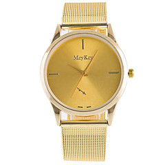 cheap Men's Watches-Women's Fashion Watch Wrist watch Quartz Alloy Band Vintage Casual Silver Gold Rose Gold Gold Silver Rose Gold