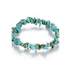 tanie Biżuteria damska-Damskie Bransoletki i łańcuszki na rękę biżuteria kostiumowa Kryształ Turkusowy Biżuteria Na Urodziny Codzienny