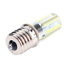preiswerte LED-Birnen-1pc 4 W 400 lm E12 / E17 / BA15D LED Mais-Birnen T 80 LED-Perlen SMD 3014 Abblendbar / Dekorativ Warmes Weiß / Kühles Weiß 220-240 V / 110-130 V / 1 Stück / RoHs