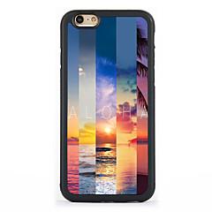 Назначение Кейс для iPhone 7 Кейс для iPhone 6 Кейс для iPhone 5 Чехлы панели С узором Задняя крышка Кейс для Пейзаж Твердый Алюминий для
