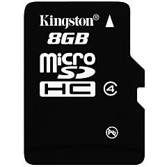 お買い得  メモリカード-Kingston 8GB マイクロSDカードTFカード メモリカード CLASS4