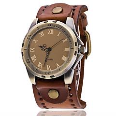 Heren Dress horloge Modieus horloge Polshorloge Sporthorloge Militair horloge Kwarts Punk Leer Band Amulet Vintage Informeel Bohémien