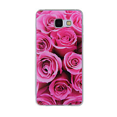 voordelige Galaxy A7 hoesjes / covers-hoesje Voor Samsung Galaxy A5(2016) A3(2016) Patroon Achterkant Bloem Zacht TPU voor A8(2016) A5(2016) A3(2016) A8 A7 A5 A3