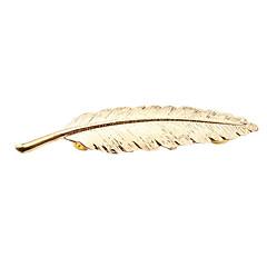 여성 브로치 의상 보석 유럽의 Leaf Shape 보석류 제품 결혼식 파티 일상 캐쥬얼