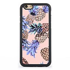 Назначение Кейс для iPhone 7 Кейс для iPhone 6 Кейс для iPhone 5 Чехлы панели С узором Задняя крышка Кейс для Фрукты Твердый Алюминий для