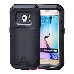 voordelige Galaxy S6 Edge Hoesjes / covers-hou mei®aluminum waterdichte schokbestendige case voor Samsung Galaxy s6 rand (assorti kleur)