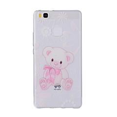 Для С узором Кейс для Задняя крышка Кейс для Животный принт Мягкий TPU для HuaweiHuawei P9 / Huawei P9 Lite / Huawei P8 / Huawei P8 Lite