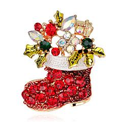 Női Melltűk Divat karácsonyi jelmez ékszerek Cross Shape Ékszerek Kompatibilitás Parti Különleges alkalom Születésnap Napi Hétköznapi